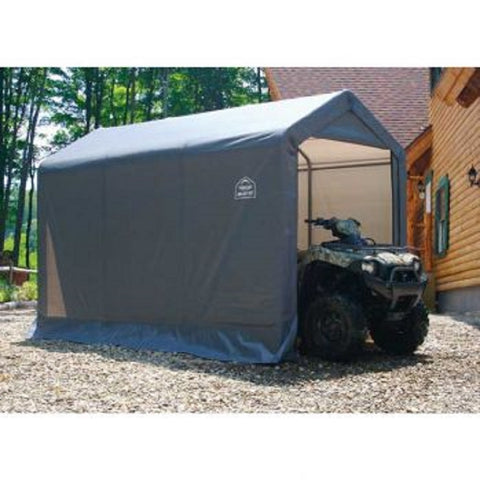 ShelterLogic Shed-In-A-Box 6×12×8 Peak Style Storage Shed