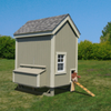 Image of Little Cottage Company 4x6 or 6x8 Colonial Gable Chicken Coop