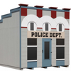 Image of Little Cottage Company Police Department Playhouse - Little Cottage Village