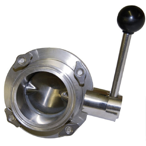 Coburn Type 316 Butterfly Valve (Clamp / Clamp) 2.5""