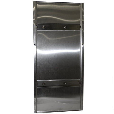 "Coburn 19"" x 41"" Stainless Steel Wall Panel for Receiver Group"