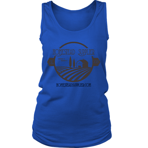 Homestead Supplier Logo Womens Tank