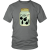 Image of Can It | Homestead Canning Mason Jar Mens T-Shirt