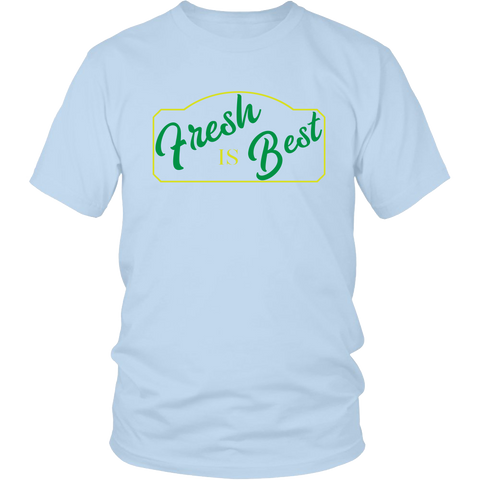 Fresh is Best - Homesteading Organic Farming Produce Mens T-Shirt