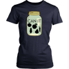 Image of Can It | Homestead Canning Mason Jar Womens T-Shirt