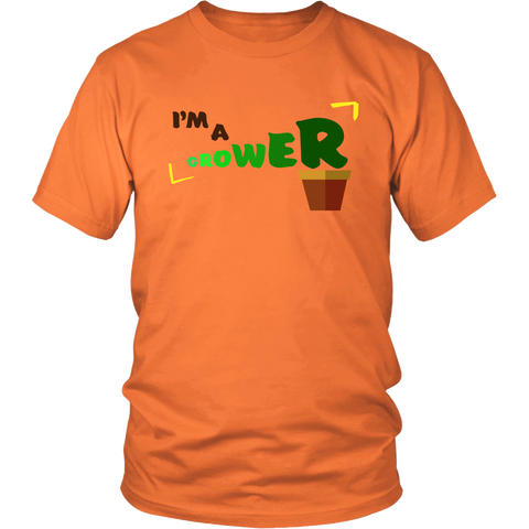 I'm A Grower | Homestead Farming Gardening Mens T-Shirt