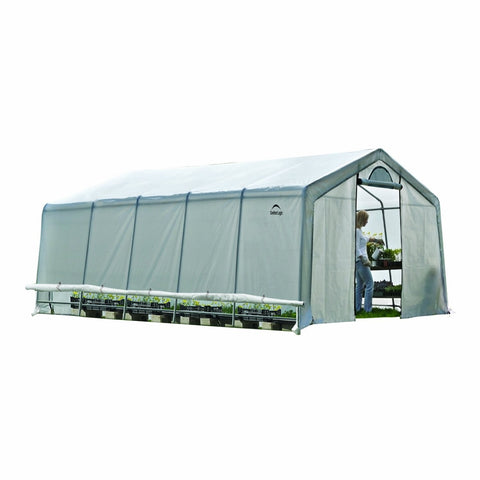 ShelterLogic GrowIT Heavy Duty Greenhouse 12 X 20 X 8 Ft