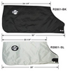Image of Small Calf Warm-Up Jacket, Jersey size, silver - (Carton of 25)