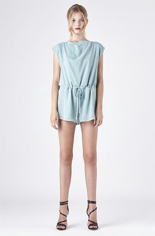 RUBY SEES ALL SHORES PLAYSUIT