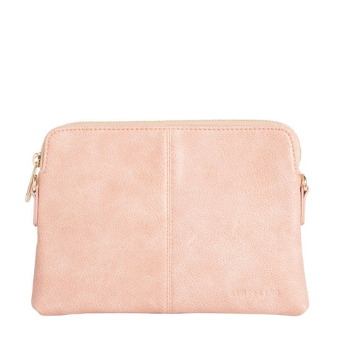 ELMS AND KING ALEXIS CARD HOLDER - ROSE GOLD TO TANGERIN