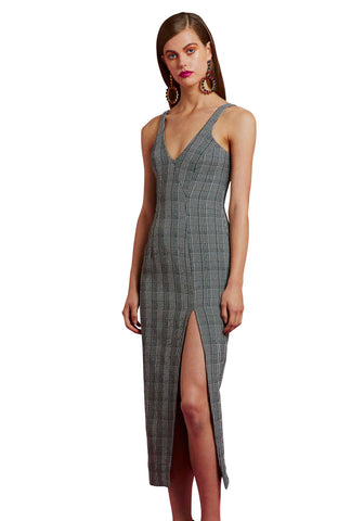 VIKTORIA & WOODS MALTA DRESS - DELTA CHECK