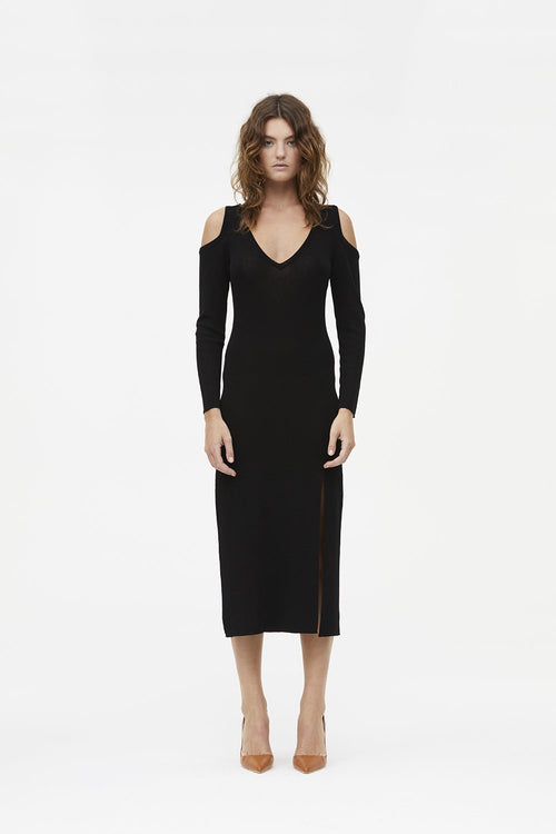 MANNING CARTELL PRIME TIME DRESS - BLACK