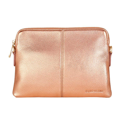 ELMS AND KING WALLET - METALLIC ROSE