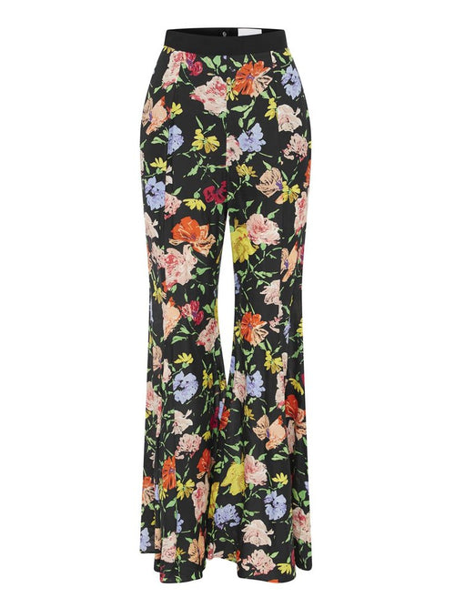ALICE MCCALL PICASSO PANT - BLACK PAINTED FLORAL