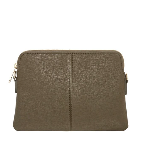 LEXINGTON CROSSBODY (OVAL) - TAN PEBBLE