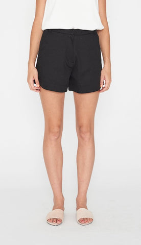 NOBODY SKYLINE RAW SHORT - BLACK