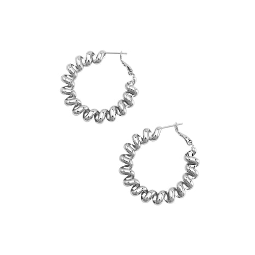 JOLIE AND DEEN MARIN EARRINGS - SILVER
