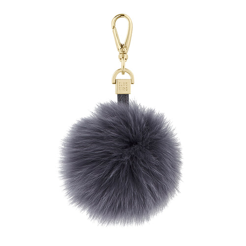 ELMS AND KING POM POM - CHARCOAL