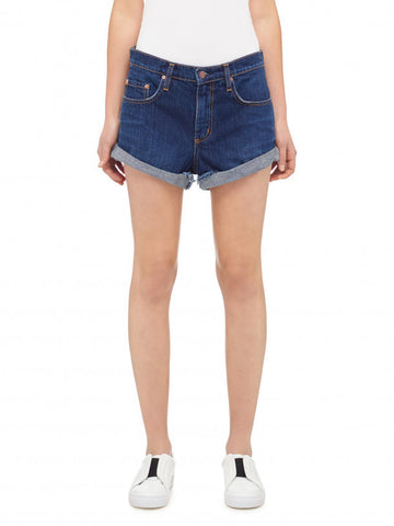 NOBODY DENIM CROSSOVER SKIRT- COCONUT