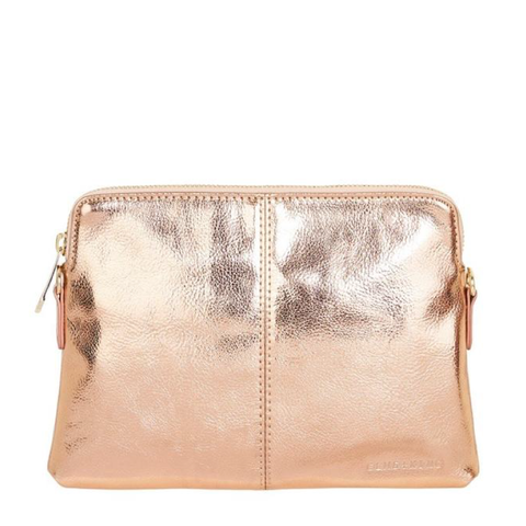 ELMS AND KING BOWERY COIN PURSE W/WRISTLET - TAN PEBBLE