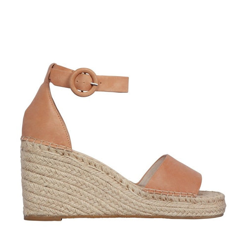 NUDE FOOTWEAR DAHLIA - TAN LEATHER