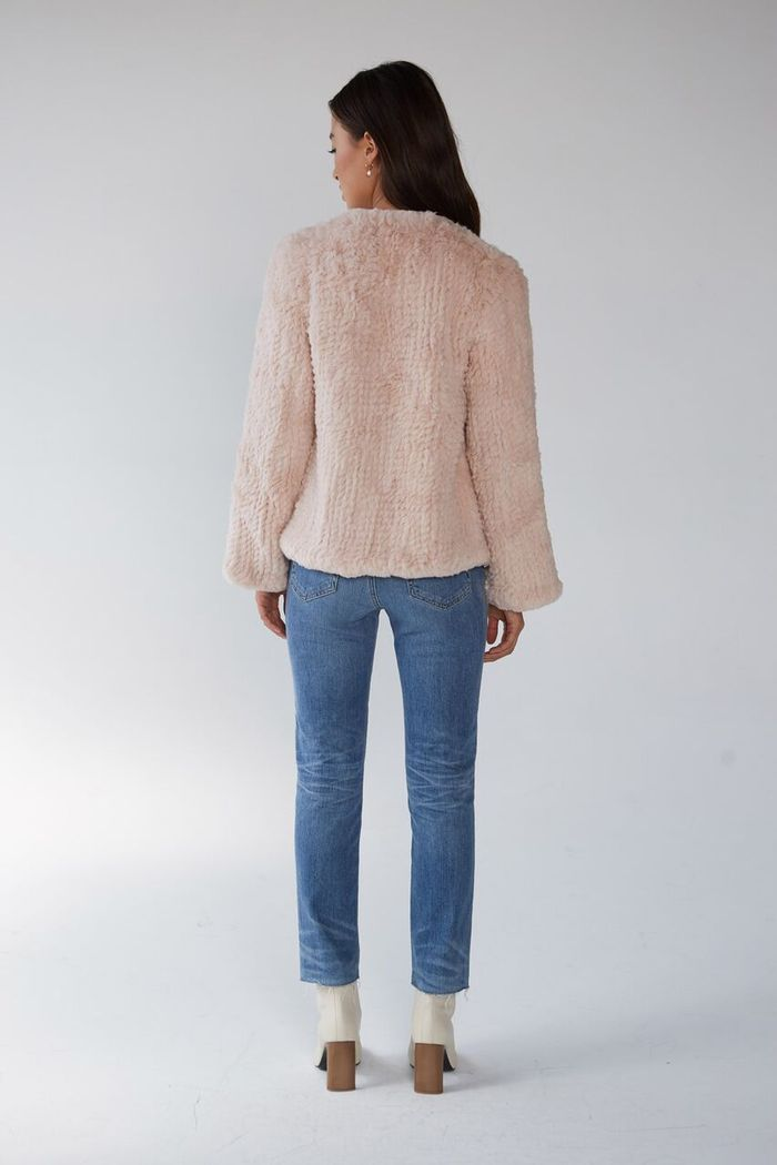 FRIENDS WITH FRANK JACKET - DUSTY PINK