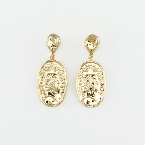 JOLIE AND DEEN MOLLY EARRING - GOLD