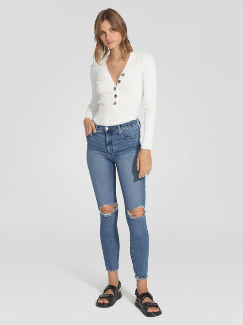 NOBODY DENIM CULT SKINNY ANKLE - CURATED