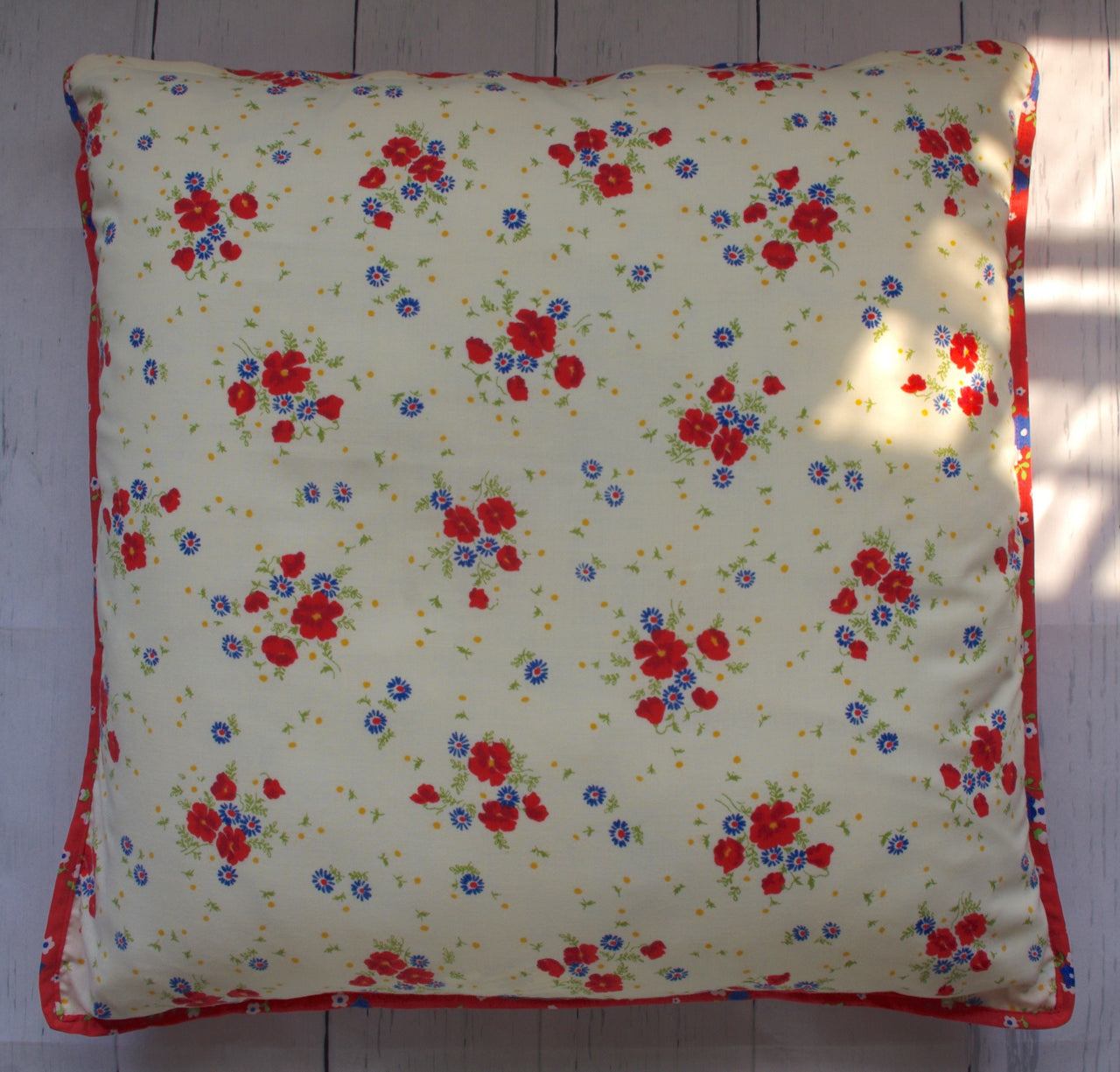 eco-friendly-sustainable-repurposed-handmade-home-decor-floor-pillow-americana-double-ditzy-floral-square-floor-pillow-front