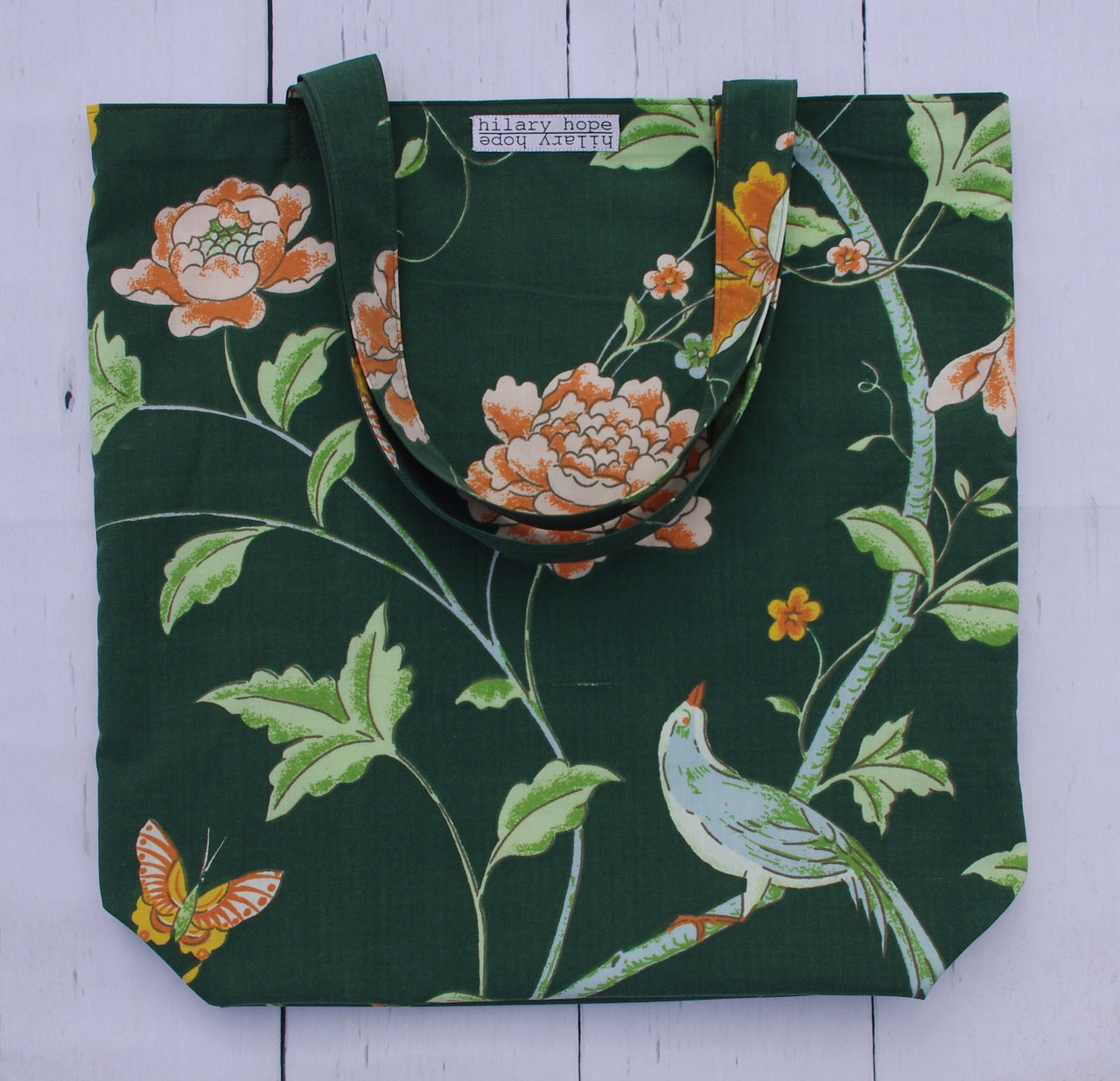 dark-green-chinoiserie-reversible-tote-bag-front