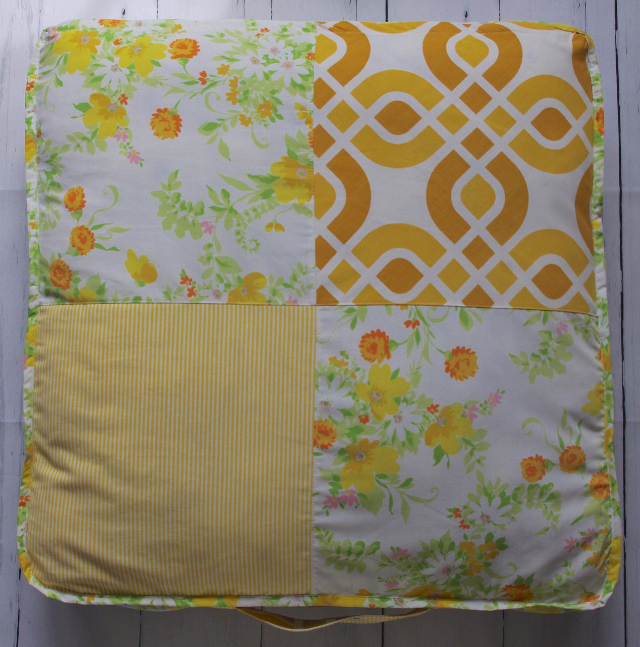 geo-stripe-floral-floor-pillow-front
