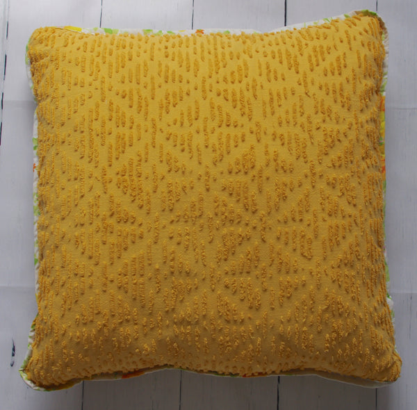eco-friendly-sustainable-repurposed-handmade-home-decor-floor-pillow-gold-vintage-chenille-retro-geo-floor-pillow-front