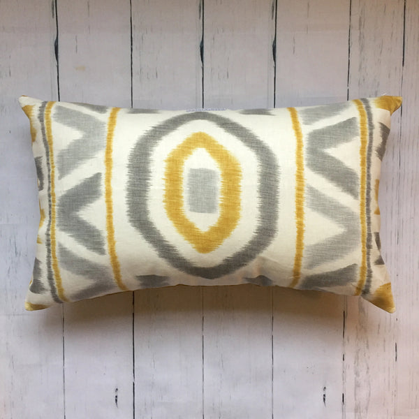 eco-friendly-sustainable-repurposed-handmade-home-decor-ikat-mustard-velvet-lumbar-pillow