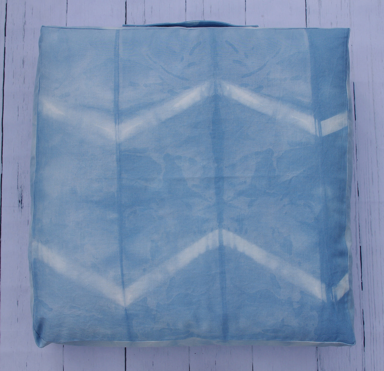 premium_linen_cotton_canvas_chevron_shibori_24_inch_square_floor_pouf_front