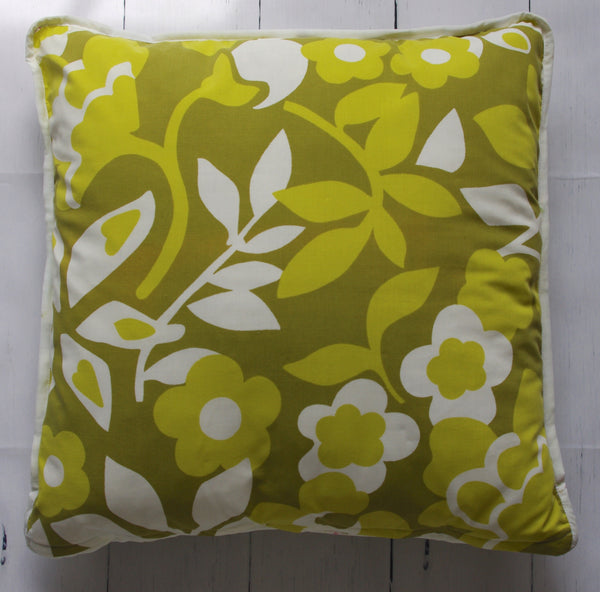 eco-friendly-sustainable-repurposed-handmade-home-decor-floor-pillow-retro-green-floral-floor-pillow-front