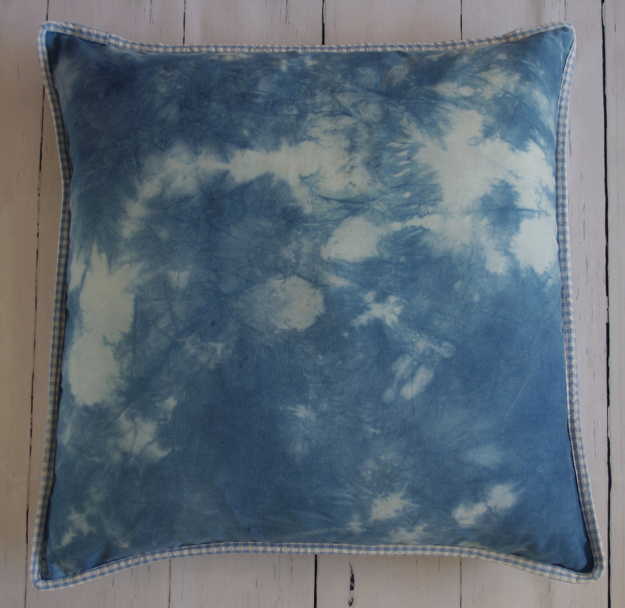 eco-friendly-sustainable-repurposed-handmade-home-decor-floor-pillow-shibori-floral-gingham-20-inch-floor-pillow