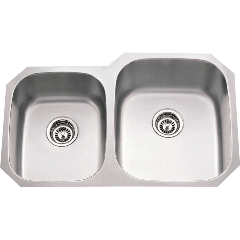 Delicieux 18 Gauge Economy Stainless Steal Kitchen Sink (801R 18)