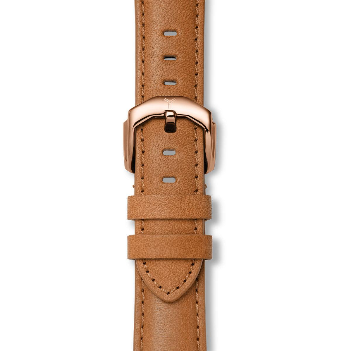 Brown Horween Chromexcel Leather Strap
