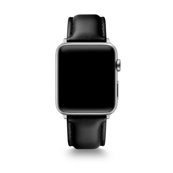 Black Horween Leather Apple Watch® Straps