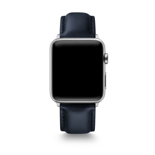 Dark Navy Horween Leather Apple Watch® Straps