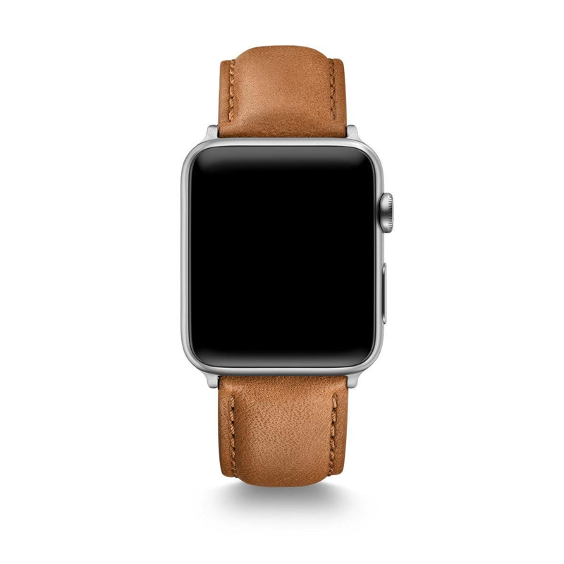 Tan Horween Leather Apple Watch® Straps