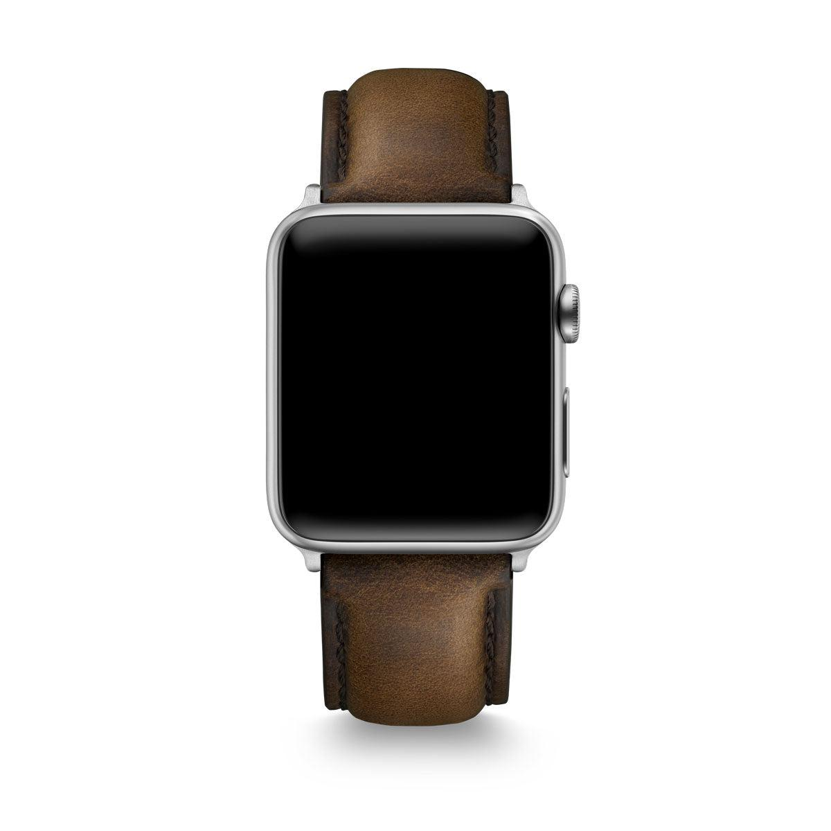 Brown Horween Leather Apple Watch® Straps