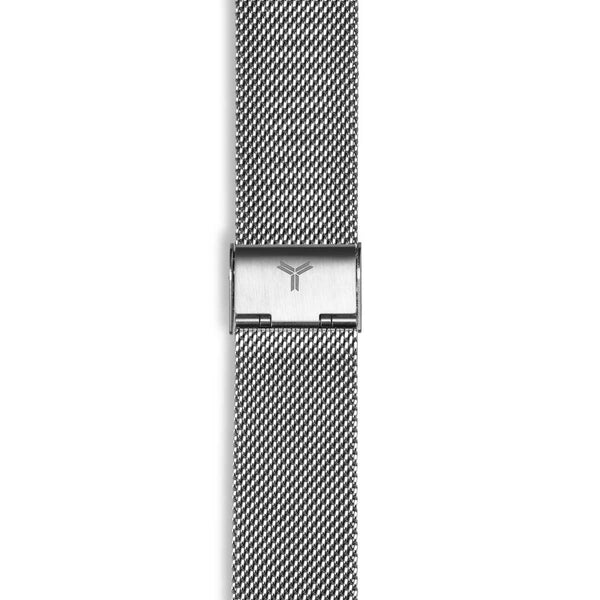 Silver 316L Steel Bracelet Watch Band