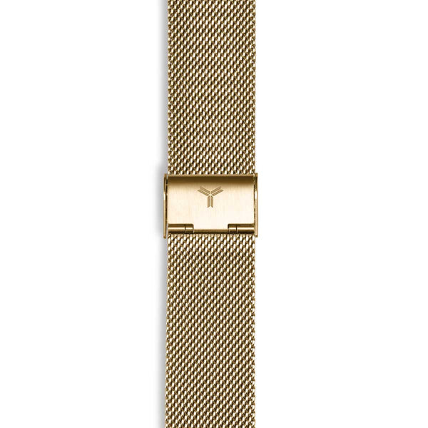 Gold 316L Steel Bracelet Watch Band