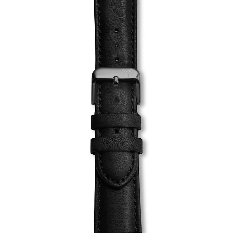 Black Essex Horween Leather Strap