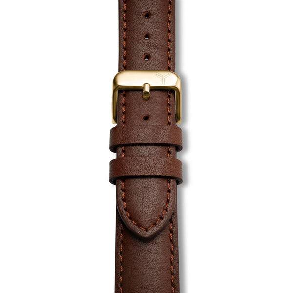 Cognac Essex Horween Leather Strap