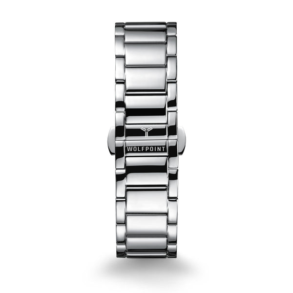 Silver 316L Ladder Watch Bracelet