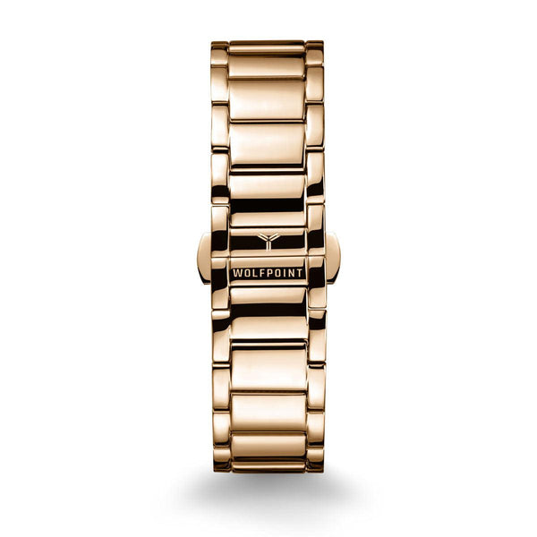 Gold 316L Ladder Watch Bracelet