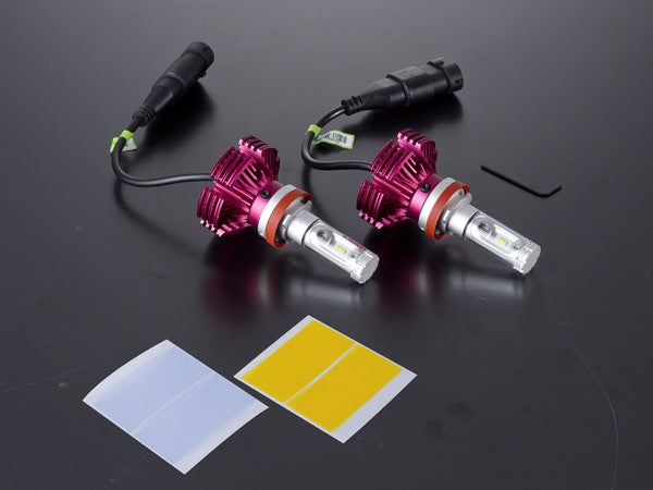 Valenti NX Series LED Headlight Bulbs (H8/9/11/16)