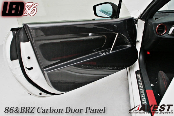 Avest Carbon Door Panels